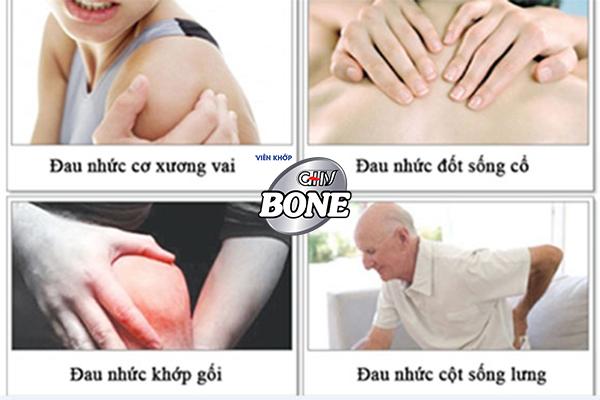Đau nhức xương khớp xảy ra ở hầu hết các độ tuổi