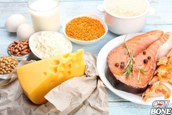 Chế độ ăn uống lành mạnh là cách tốt nhất để ngăn ngừa bệnh loãng xương