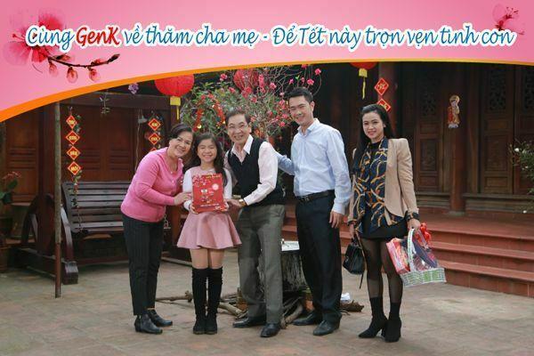 Cùng GHV về thăm cha mẹ