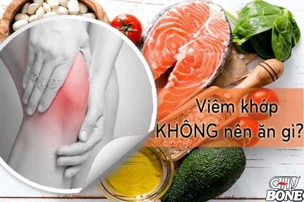 Những thức ăn cần tránh cho người bệnh khi bị viêm khớp dạng thấp
