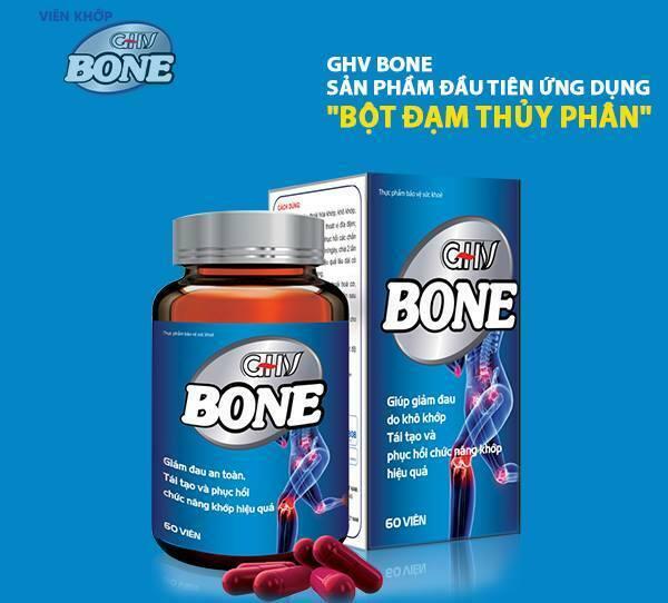 GHV Bone an toàn cho người sử dụng