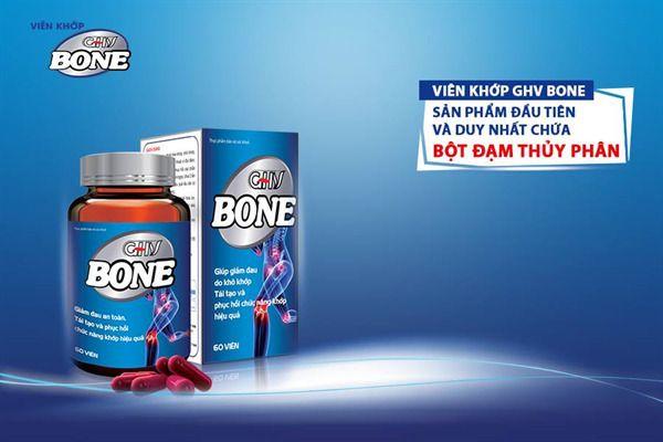 GHV Bone chứa bột đạm thủy phân