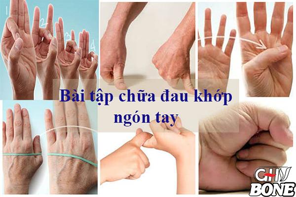Bài tập chữa đau khớp ngón tay được áp dụng nhiều