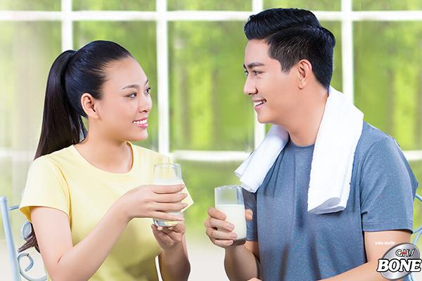 Vitamin D có thể giúp bạn ít bị loãng xương.