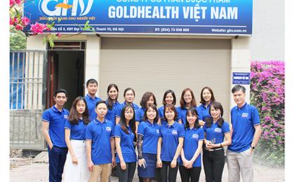 Dược phẩm GOLDHEALTH Việt Nam: Thầy thuốc giỏi, doanh nghiệp tốt, cốt nhất ở tấm lòng