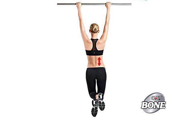 Đu xà đơn có tác dụng giãn cơ, cải thiện chức năng vận động của cột sống.