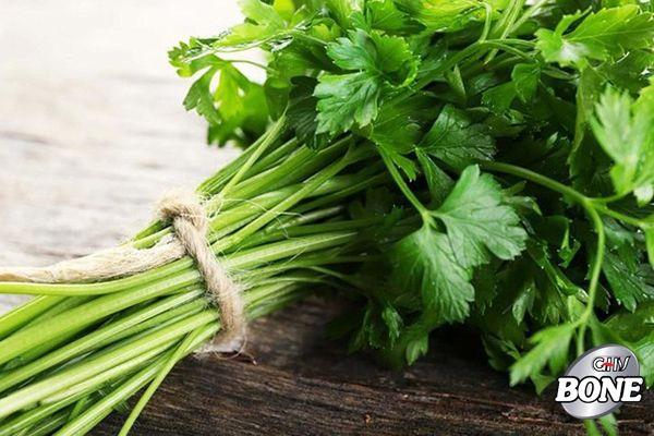 Rau mùi tây đã được chứng minh là có tính chất chống viêm mạnh mẽ