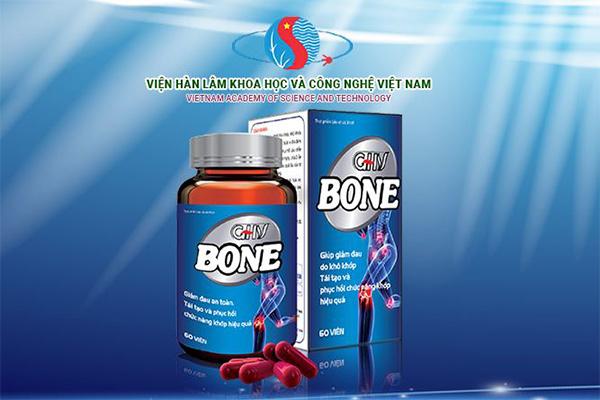 GHV Bone giúp dự phòng và hỗ trợ điều trị hiệu quả các bệnh về xương khớp