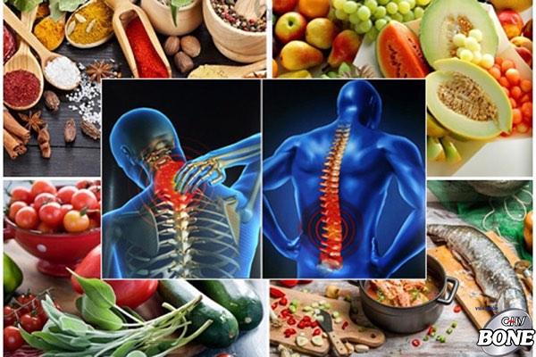 Bệnh thoái hóa cột sống nên ăn gì?