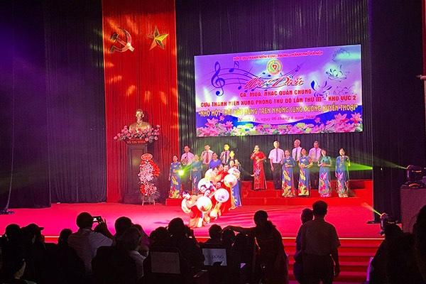 Goldhealth Việt Nam đồng hành cùng Giải thưởng Hội diễn văn nghệ quần chúng hội cựu thanh niên xung phong