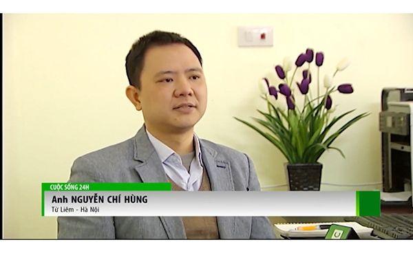 Anh Nguyen Chi Hung sau khi su dung san phamr