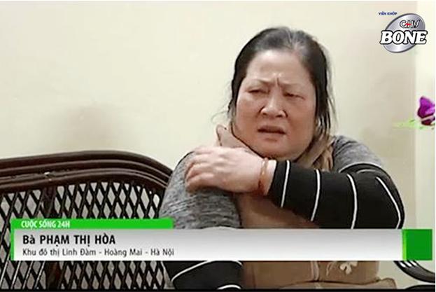 Bà Hòa bị viêm đa khớp đã nhiều năm