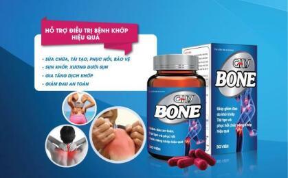 Tại sao nên chọn Viên khớp GHV Bone cho người bệnh khớp