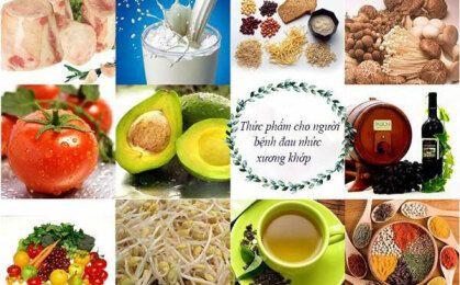 Top 3 nhóm thực phẩm giảm đau nhức xương khớp bạn nên ăn hàng ngày