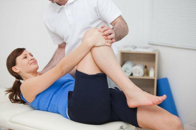 Các bài tập vật lý trị liệu được thiết kế theo tình trạng của bệnh nhân