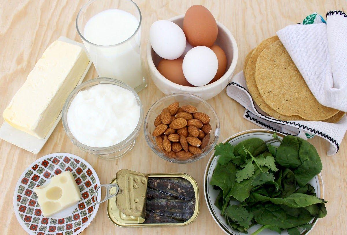 Những thực phẩm giàu canxi rất cần thiết cho người bị chứng thoát vị đĩa đệm