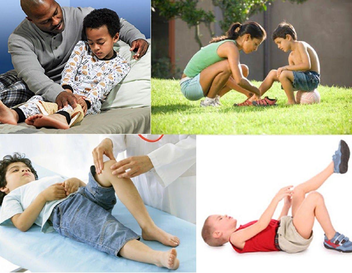 Viêm khớp háng thường khiến trẻ sưng, đau, khó vận động