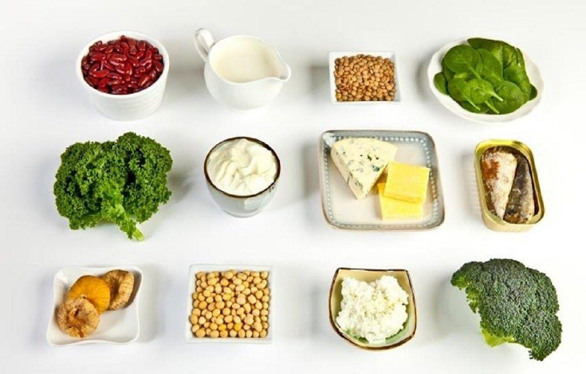 Các bữa ăn thiếu canxi dễ dẫn đến cột sống bị thoái hoá