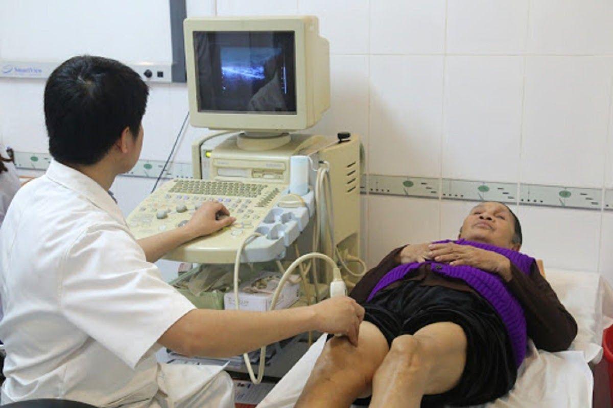 Siêu âm khớp gối giúp chẩn đoán thoái hóa khớp gối