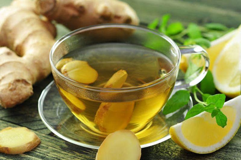 Uống trà gừng mỗi ngày giúp giảm đau, chống viêm hiệu quả