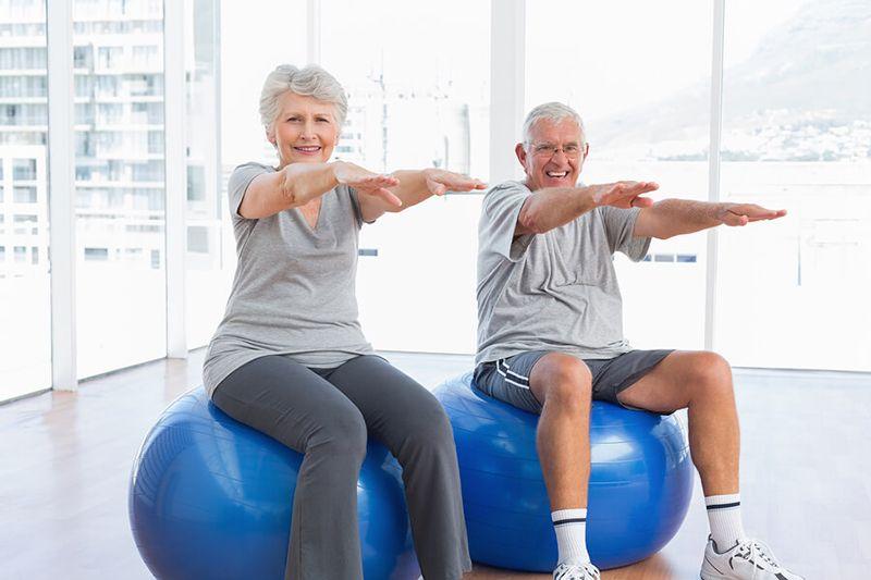 Chế độ tập luyện hợp lý có vai trò quan trọng trong việc điều trị bệnh