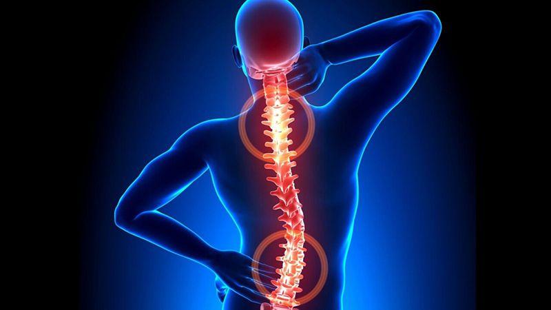 Lưng và cổ là hai vị trí chủ yếu thường xảy ra gai cột sống