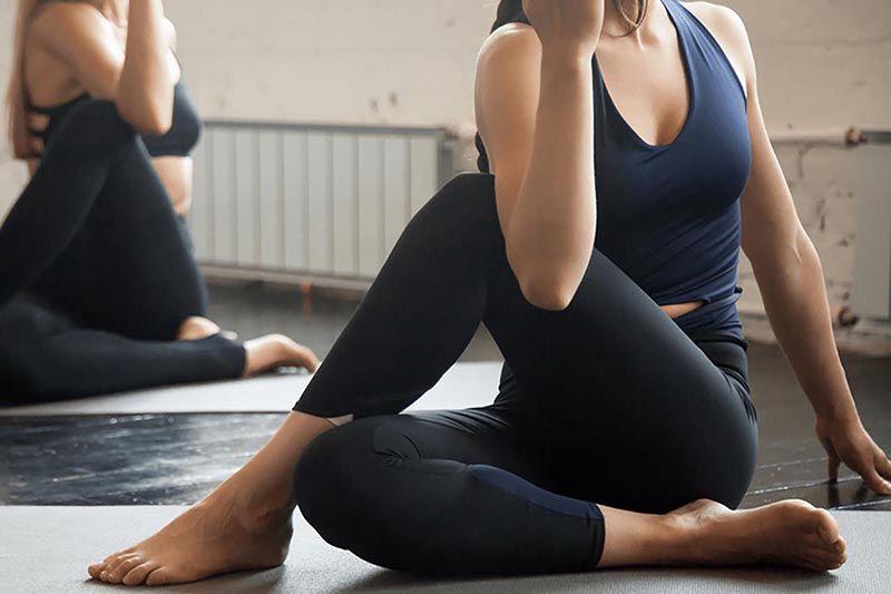 Tập yoga có thể giúp bạn hạn chế nguy cơ mắc bệnh thoát vị đĩa đệm