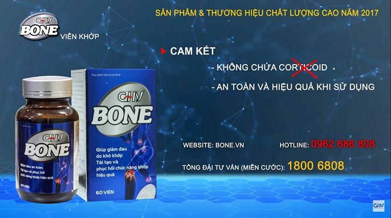 Viên khớp GHV BONE hỗ trợ chữa bệnh về xương khớp.