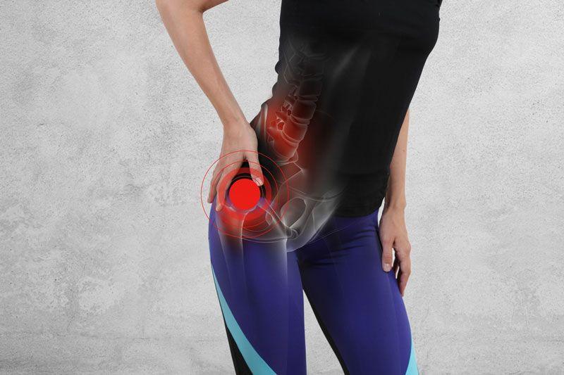 Viêm khớp háng mang đến đau đớn cho người bệnh