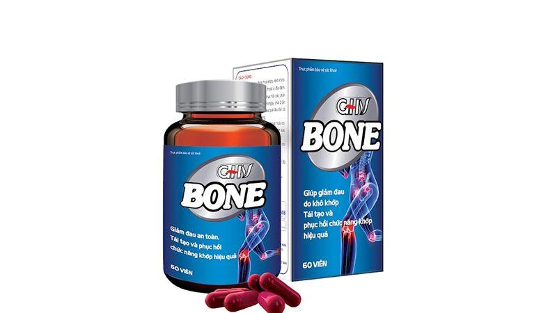 Viên uống Bone - giải pháp điều trị dứt điểm viêm khớp