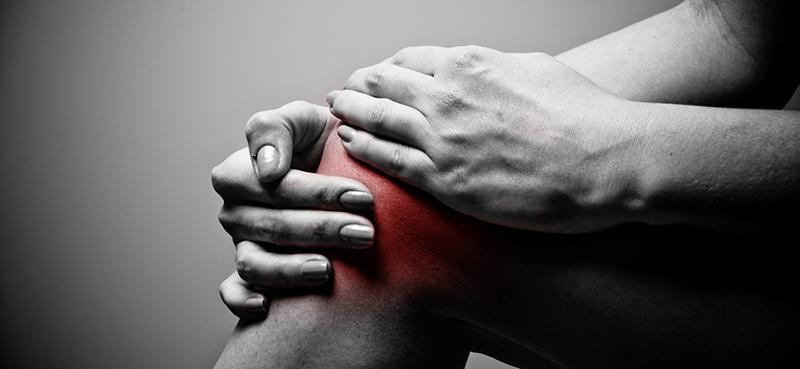 Các chấn thương trong quá trình vận động khiến lớp bề mặt của sụn khớp gối chịu nhiều tổn thương và hư hỏng