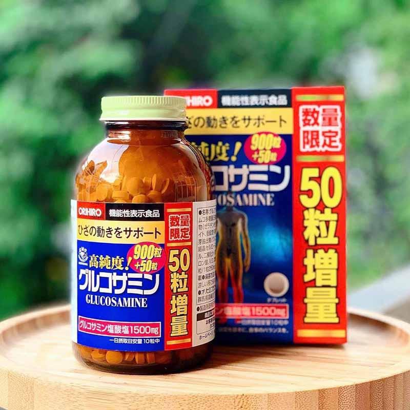 Các loại thuốc tái tạo sụn khớp của Nhật được nhiều người tin tưởng lựa chọn chẳng hạn như Glucosamine Orihiro