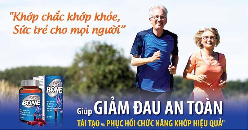 GHV Bone là sản phẩm được các chuyên gia xương khớp hàng đầu trong nước khuyên dùng