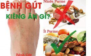 Bệnh gút nên kiêng ăn gì để nhanh khỏi?