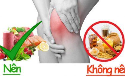 Người bị viêm khớp nên ăn gì và kiêng gì để phòng ngừa bệnh tái phát?